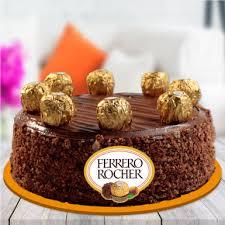 Ferrero Rochers Chocolate Cake Winni