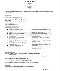Resume Recent Grad Nursing New Grad Resume Recent Graduate Sample Socialum Co