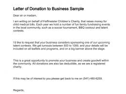 letter of donation apparel dream inc