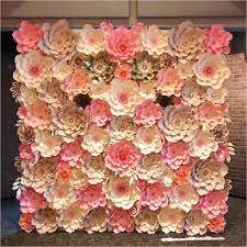 Cardstock Paper Flower Cardstock Flower Template Luxury Here S An 8x8 Paper Flower Wall In