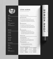 Indesign Resume Template Terrific Cool Templates Word 292415 Ideas