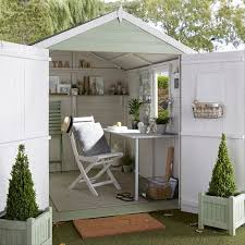 diy garden office. the she shed is latest garden trend and we think our pent shiplap wooden diy office