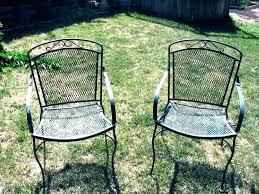 vintage cast iron patio furniture wrought iron dining set cast iron patio set and cast iron