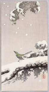 four seasons of my soul poem from the kokinshu written on the  four seasons of my soul poem from the kokinshu written on the theme of snow falling on trees by priest sosei