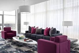 Small Picture Black And Purple Living Room Decor 25 Best Purple Living Rooms