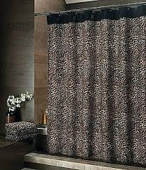 safari shower curtain bay linens leopard jungle uk