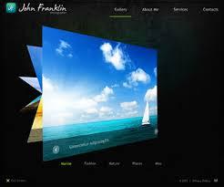 art portfolio template best flash website templates best artist portfolio websites