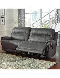 ashley furniture austere power reclining sofa grey