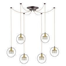Светильник подвесной<паук> <b>Lumion 4416/6</b> Yannic: продажа ...