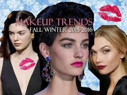 makeup trends fall winter 2016 2016 beauty makeup trends