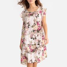 Рубашка <b>ночная</b> с цветочным рисунком розовый/цветочный ...