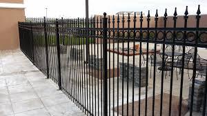 metal fence styles. Ornamental Steel Fence Perfect Company Firm Metal Railing Ideas Added Elegance Styles