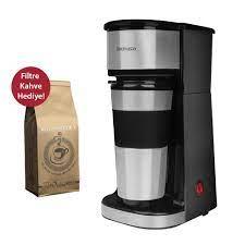 Goldmaster IN-6310 Magic Coffee Bardaklı Kişisel Filtre Kahve Makinesi  Filtre Kahve Hediyeli