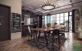 industrial dining room table and chairs. Lighting:Rustic Industrial Dining Room Table Set Vintage Furniture Chairs Light Fixtures Lovely Chandelier Koffiekitten And U