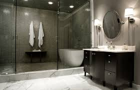 tile ideas inspire:  marble floor colored shower