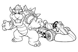 Mario Kart 3 Jeux Vid Os Coloriages Imprimer