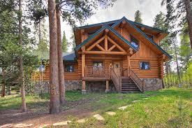 5 bedroom breckenridge luxury log cabin al the bear cabin front exterior view