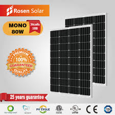 Small Solar Panels For Lights Hot Item Rosen Small Solar Panels Mono 80w For Lights