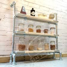 Free Standing Shop Display Units Shop display shelves in industrial style scaffold Free standing 34