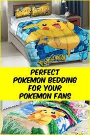 Pokemon Bedroom Wallpaper Pokacmon Bedding Are The Coolest