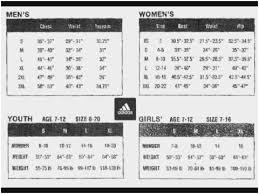 Credible Nike Size Chart Vs Adidas 2019