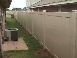 tan vinyl privacy fence vinyl privacy fences48 vinyl