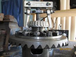 carrier bearing puller. this bearing can be removed easily with the otc-4520 side puller. carrier puller