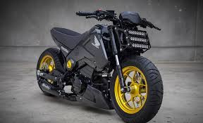 the honda grom streetfighter mad industries