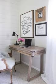 Image Pinterest Corner Bedroom Rustic Desk With Whitewashed Weathered Wood Finish Similar To Rh Pinterest 25 Fabulous Ideas For Home Office In The Bedroom Home Offices