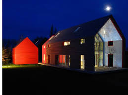 Modern Barn Home Designs Sliding Barn House Modern Style With Glass House Design