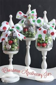 old fashioned apothecary jar ornament displays