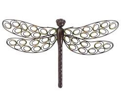 dragonfly wall art outdoor outdoor