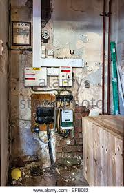 wiring stock photos wiring stock images alamy outdated electrical wiring and fuseboxes on a damp wall in an old building stock image