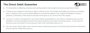 The Direct Debit Guarantee Your Rights As A Customer Gocardless