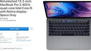 Apple's Refurbished Store Now Offering 2019 13 and 15-Inch MacBook Pro  Models - MacRumors
