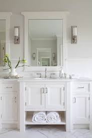 Wonderful White Bathroom Vanities With Marble Tops To Create A Hamptons Style Tile On Innovation Ideas