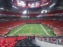 Super Bowl 51 Seating Chart Mercedes Benz Stadium Section 101 Atlanta Falcons
