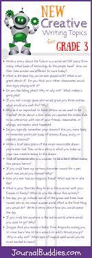 30 New Creative Writing Topics For Grade 3 Journalbuddies Com