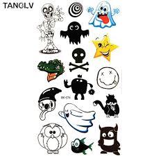 Tanglv бренд монстров университет временная татуировка для мальчиков и девочек