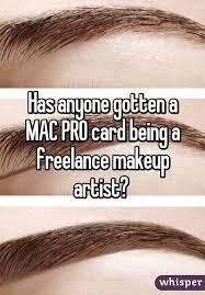 mac pro card makeup artist mugeek vidalondon