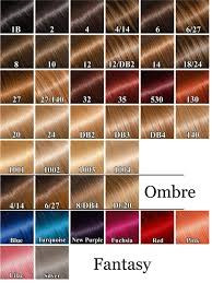 49 Qualified Hair Extension Color Number Chart
