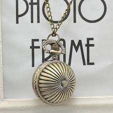 product images gallery generic vintage antique round dial quartz pocket watch necklace pendant