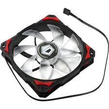 <b>Вентилятор</b> для корпуса 120x120 мм <b>ID</b>-<b>Cooling PL</b>-<b>12025</b>-<b>R</b> ...