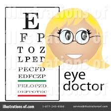 Eye Chart Clipart 84838 Illustration By Pams Clipart