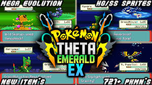 Pokemon Theta Emerald EX - 2020 | Great Rom Hack With Mega  Evolution,Special/Physical Split & More! - YouTube