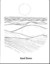 Small Picture Desert Coloring Pages zimeonme