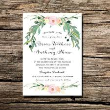 printable wedding invitation watercolor floral wreath invite diy How To Make Watercolor Wedding Invitations printable wedding invitation watercolor floral wreath invite diy printable wedding invite Wedding Invitation Templates