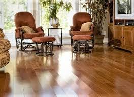red oak character grade hardwood flooring room scene