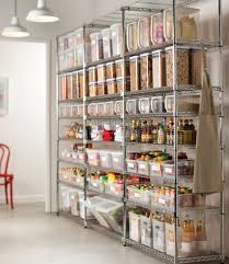 Kitchen Pantry Shelving Fascinating Walk In Pantry Shelving Designs Featuring White
