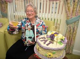 Birthday celebrations for Lutterworth great-grandma who still loves  dancing, walking and gardening at the age of 100 | Rugby Advertiser